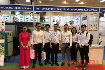 Hikari Việt Nam tại Triển lãm quốc tế ngành công nghiệp nhựa, in ấn và đóng gói bao bì Hà Nội 2019