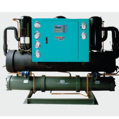 Hệ thống nước đá dạng ống và vỏ làm mát bằng nước ( WATER CHILLER)